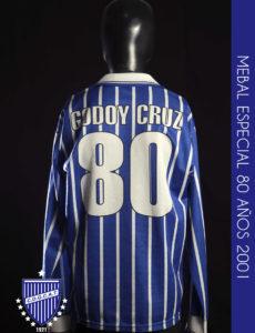 MEBAL ESPECIAL 80 AÑOS 2001