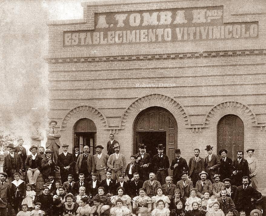 La fusión con el Club Bodega Antonio Tomba